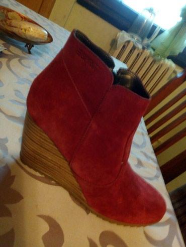 Ženska obuća | Sevojno: ESPRIT kožne čizme 39, odlično očuvane, gazište oko 25 cm