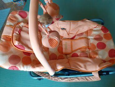 Javiti se na - Srbija: Njihalica za bebe u tri nivoa podizanja od ležećeg do sedećeg. Na jedn