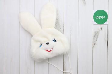 Дитяча карнавальна шапочка Зайчик    Бренд: Золушка Довжина: 35 см Нап