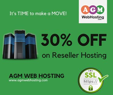 Get 30% off on Reseller Hosting - AGM Web HostingNow get 30%off on