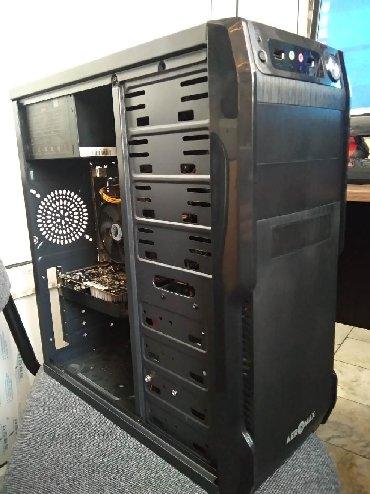 современный компьютер в Кыргызстан: Игровой компьютер GTX1050 2GB / i5 / 8gb ram / ssd 120gb / 500gb