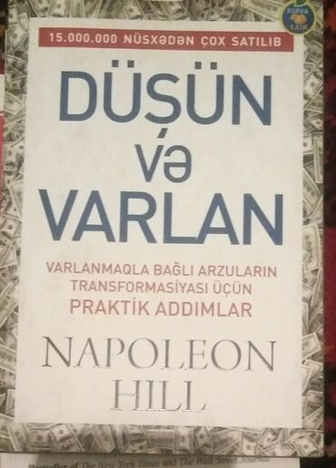 düşün və varlan - Azərbaycan: Düşün və Varlan Napoleon Hill