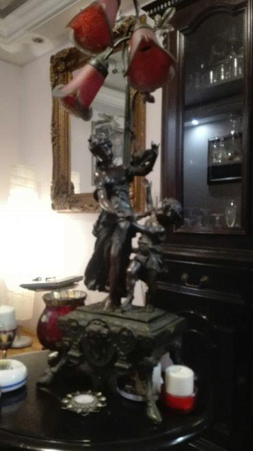 Lampa replika francuska - Crvenka