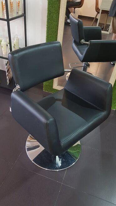 Frizerka - Srbija: Dve frizerske stolice, udobne, bez ostecenja