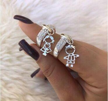 Клёвенькие, необычные колечки. Оба кольца 17 го размера. Брендовая