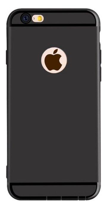 Maska za ajfon 6/6s crne boje ,materijal je guma ,crne boje ,za vise - Uzice
