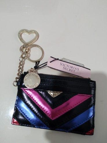 Мини кошелек с брелком новый, привезен из Европы. Оригинал