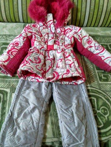 Лыжный костюм фирменный на девочку 8 в Бишкек
