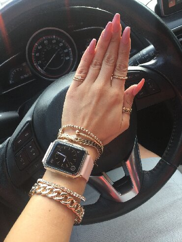 apple 5 - Azərbaycan: Apple Watch 5 GPS 44mm PinkApple Watch Series 5 - Teknik