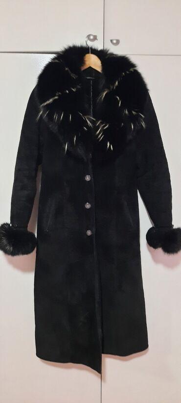 Zimska jakna reebok od - Srbija: Monton turski, od prevrnute koze sa krznom od lisice koja se moze