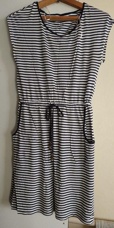 белое летнее платье в Кыргызстан: Летнее лёгкое платье от sela состояние отличное, размер 46-48