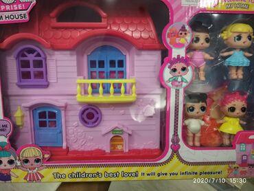 Lol kuklalarının villası  Вилла куклы Лол