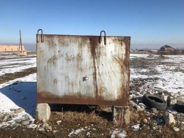 Бак железный продаю 4,5 куб Б/У в Бишкек