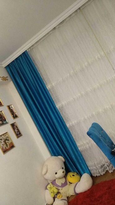 tul - Azərbaycan: Mavi dekor 2 metre. Tul 6 metre. 2.80. Tek dekor 40 azn tulle birlikde