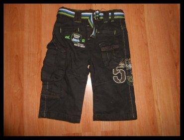Braon somot pantalone - Srbija: Pantalone vel. 6-9 meseci kao nove pantalone braon vel. 6-9 meseci