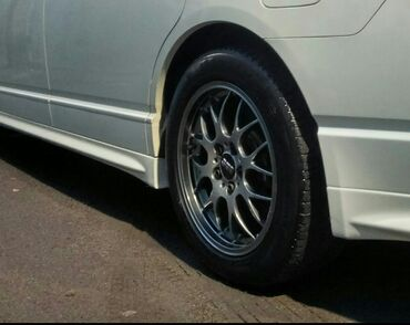 17570 r13 диски в Кыргызстан: BBS RG 710 r17 7 j +45, 5x114, кованые лёгкие диски, резина Michelin