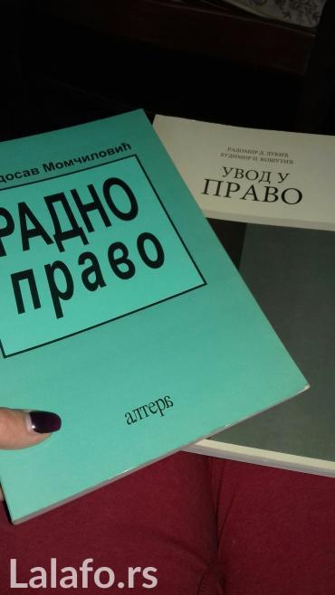 Super ponuda.Dve potpuno nove nekoriscene knjige. Uvod u pravo i radno - Priboj