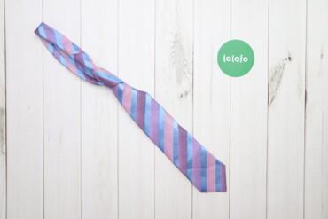 Аксессуары - Украина: Чоловіча краватка Marks & Spencer    Колір: блакитно-рожевий Довжи