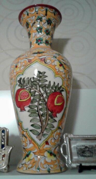 Продается ваза ручной работы, привезенная из Узбекистана
