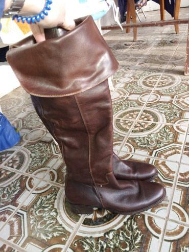 Ženska obuća   Ruski Krstur: Italijanske cizme koza br.39