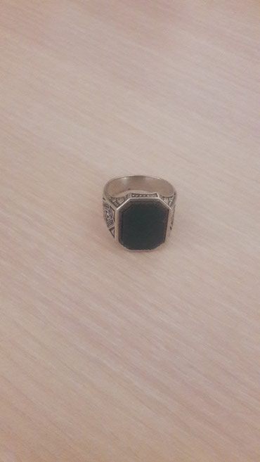 Продаю печатку из чистого серебра и натурального камня. в Бишкек