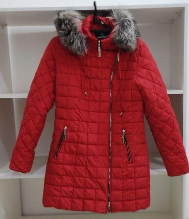 свадебное платье размер 46 48 в Кыргызстан: Зимняя, красивая и очень удобная куртка в хорошем состоянии. Размер
