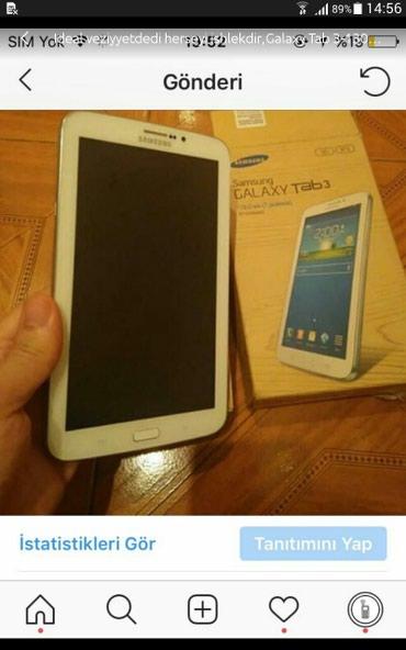 Bakı şəhərində Galaxy Tab 3, 8 gb yaddas, karobkssida var