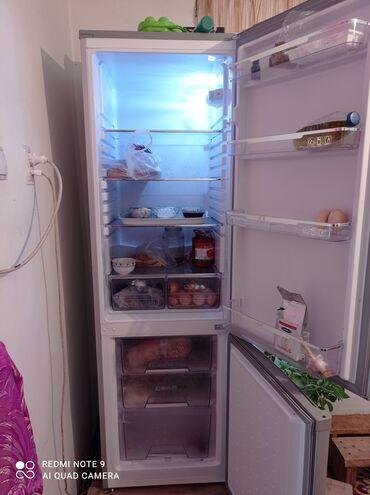 Электроника - Орловка: Б/у Двухкамерный | Серый холодильник