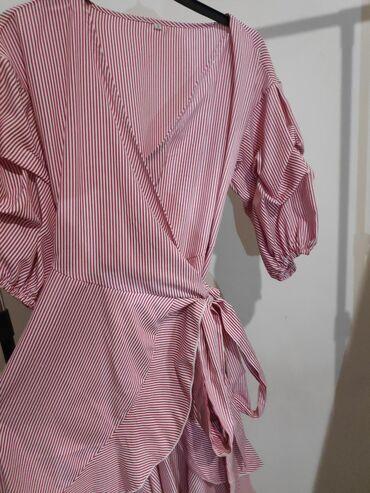 Ροζ γυναικείο φόρεμα
