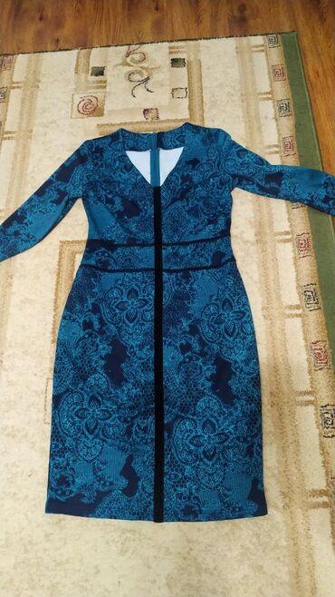 супер стильное платье в Кыргызстан: Платье огонь!Вы в нем не останетесь незамеченной!Бархатные вставки