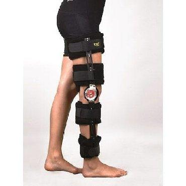 34 elan | ORTOZLAR: Dereceli dizlik.liqament bag yaralanmalarinda emeliyyat sonrasi