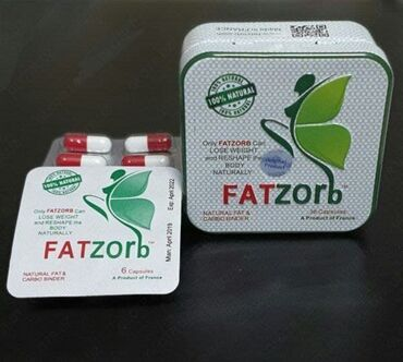 fatzorb бишкек in Кыргызстан   АРЫКТОО КАРАЖАТТАРЫ: Fatzorb усиленная новинка 36 капсул может уменьшить вес, заново