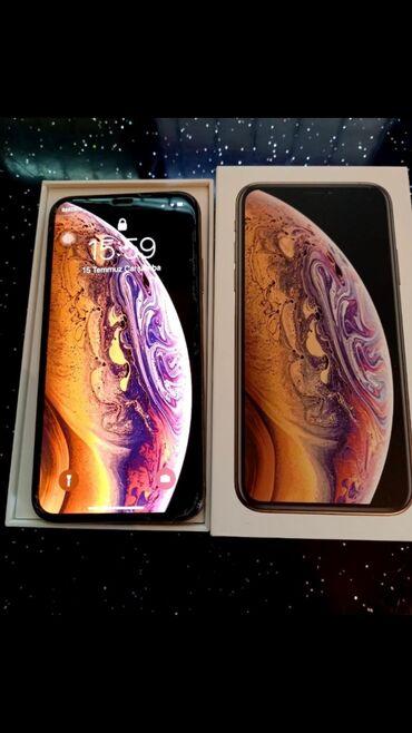 Tel Iphone XS 64 Gbdi 3 aydi alinub tecili satilir endirim edildi
