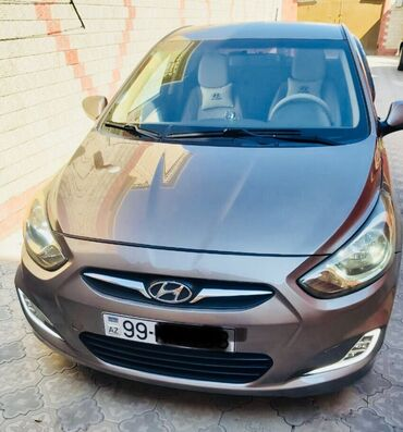islenmis tekerler - Azərbaycan: Hyundai Accent 1.6 l. 2011   193 km