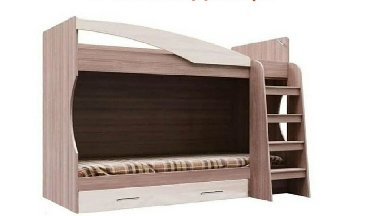Детская мебель в Кыргызстан: Срочно! Продаю кровать (в связи переездом). Заказывали с России. Качес