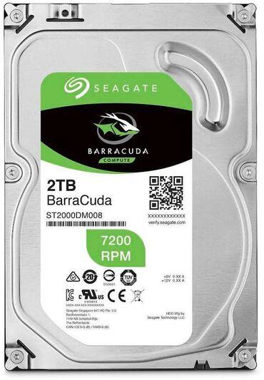 seagate barracuda 80gb в Кыргызстан: Seagate 2tbподключение - sata 6gbit/sмакс. Скорость интерфейса - 600