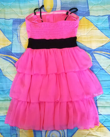 Personalni proizvodi - Cacak: Haljina veličine 36/38 roze prijatna, lagana, dužina haljine je 70cm b