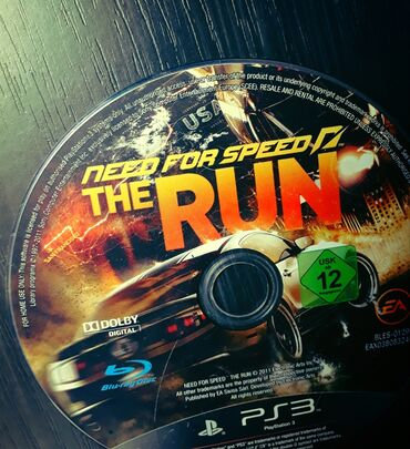 NEED FOR SPEED THE RUN  IGRICA ZA PS3 NIGDE OGREBANA!!