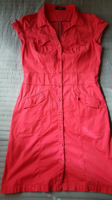 Roze haljina marka Taifun br.40 - Pozarevac
