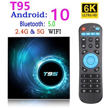 smart tv box - Azərbaycan: Android smart tv box Model Original T95 Android smart tv box 2/16gb