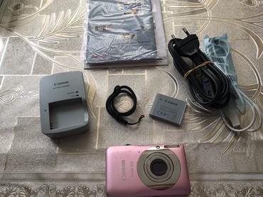 canon fotoaparat - Azərbaycan: Fotoaparat canon satilir. İşlenilib. Batareyası ela veziyetde