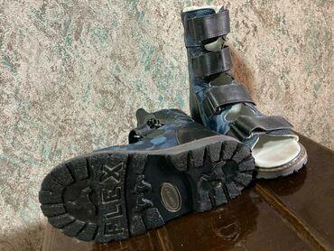 Детский мир - Аламедин (ГЭС-2): Продам кожаные, ортопедические, с суппинатором, на 4-6 лет, в отличном