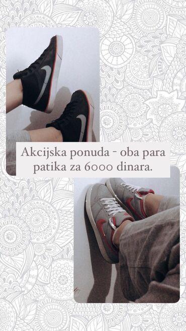 Siemens af51 - Srbija: Ukoliko kupite oba para Nike patika, oba su broj 40, možete ih dobiti