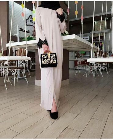 бисера в Кыргызстан: Продаю платье Абая-Накидка.Ткань абайная.Дубайский дорогой Шёлк.Очень