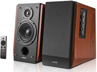 Колонки Bluetooth EDIFIER R1700BTs, 2.0, коричневый. Состояние новых