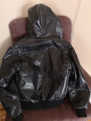 Muška odeća | Stara Pazova: Topla kožna jakna. Top Broj L Krzno se skida Zamena za lap top može mo