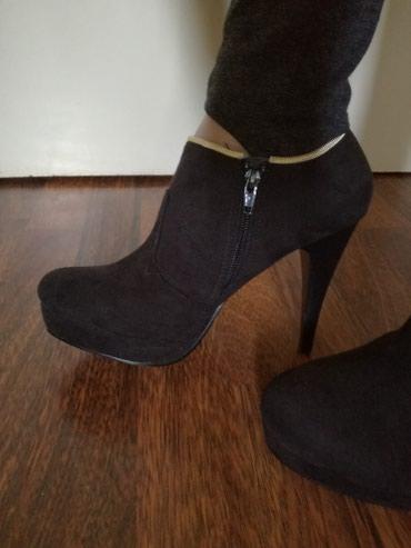 Prelepe cipele+poklon brus,stikle 11cm,broj 39,nove - Belgrade