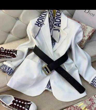 Пиджак Dior, Турция,без ремня, размеры есть, качество отличное