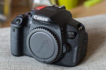 фотоаппарат canon 10d в Кыргызстан: Canon 700d kit 18-55stm. Состояние идеальное. Пробег 9000 тыс. В