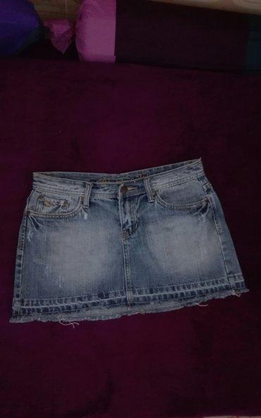 Suknja-duzina - Srbija: Mini suknja abercrombie,sirina 37 cm,duzina 28cm